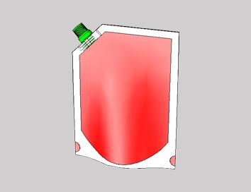 Doypack Corner Spout