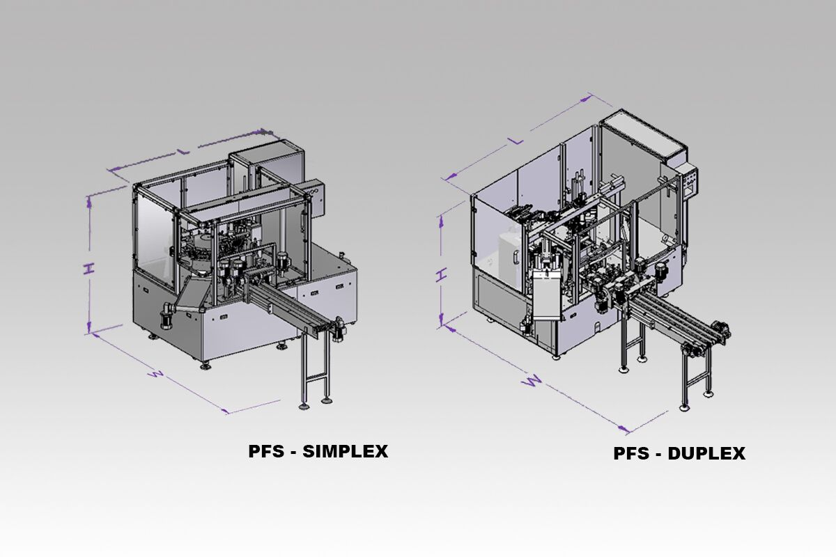 pick fill seal machine