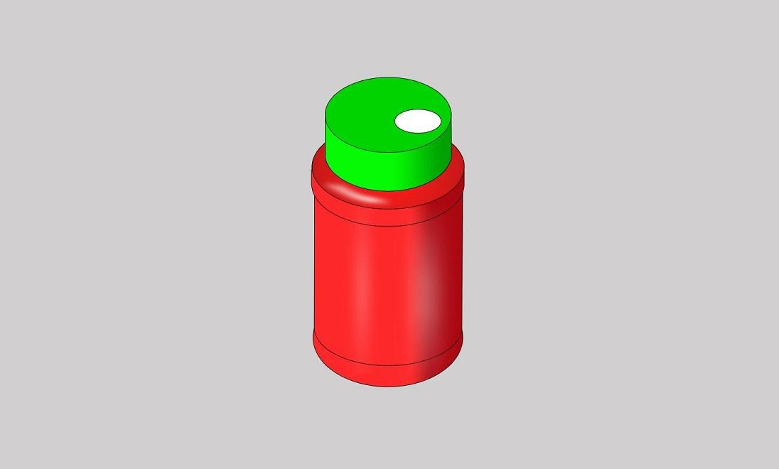 Round Jar Screw-on Cap