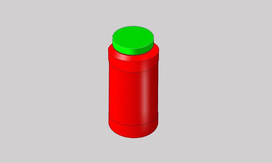 Round Jar Press Fit Cap